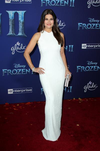 idina menzel frozen ii 2019 400x600 - Selena Gomez arrives at Disney's 'Frozen II' World Premiere