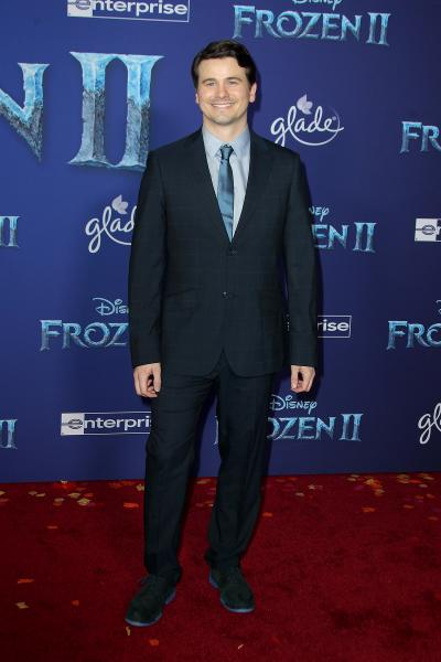 jason ritter frozen ii 2019 400x600 - Selena Gomez arrives at Disney's 'Frozen II' World Premiere