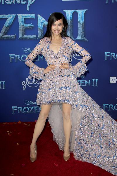 sofia carson frozen ii 2019 400x600 - Selena Gomez arrives at Disney's 'Frozen II' World Premiere